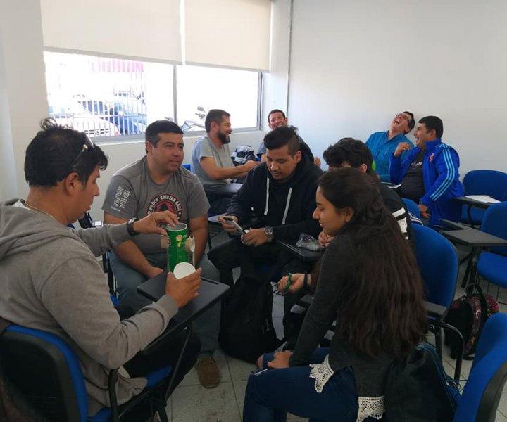 Equipo de Co-Imagina realizó jornada a estudiantes de CFT de Alto Hospicio